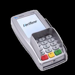 Verifone bankterminal - Butikkdata betalingsterminaler datakasse betalingsløsning betalingsterminal butikkdatautstyr