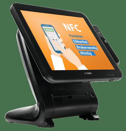 NFC Trådløs betaling via mobil